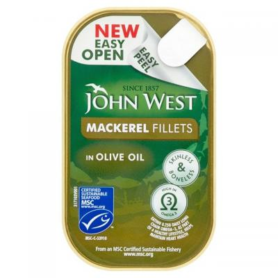 John West Mackerel